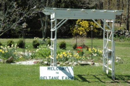 Beltane Farm has regular open houses. Come walk around and enjoy the scenery.
